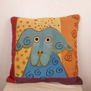 Laurel Burch pillow